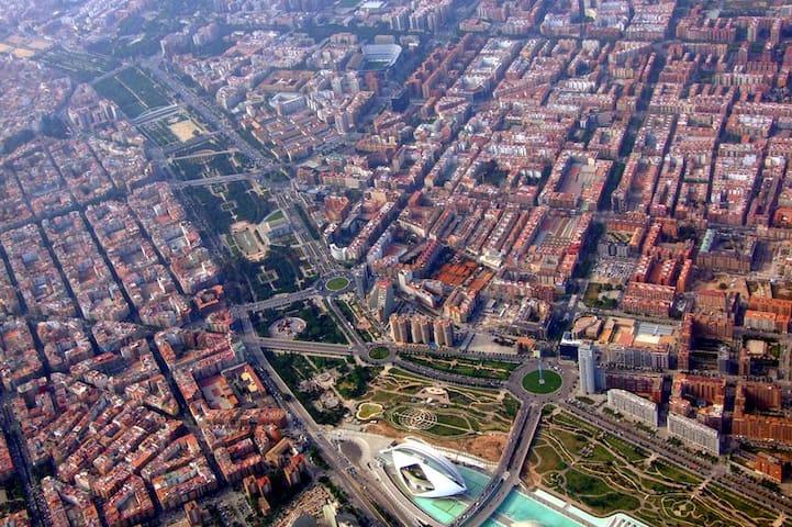 Habitación  Zona Universitaria  - València - Apartemen