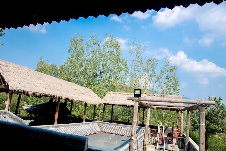嵩山少林寺/禅宗少林音乐大典/三皇寨附近的复古风民宿/山脚下小院儿