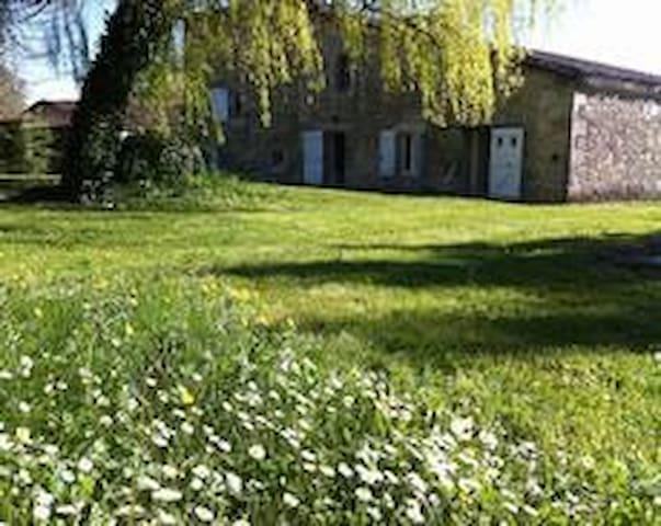 Grande maison de campagne piscine - Lannes - Huis