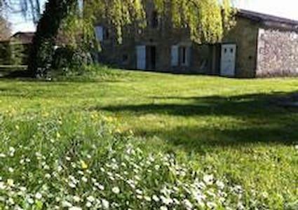 Grande maison de campagne piscine - Lannes