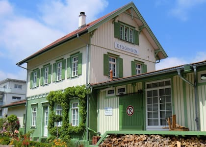 Bahnhof Deggingen - kleine Ferienwohnung - ruhig! - Deggingen