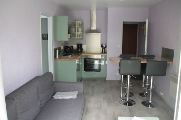 super appartement 4 places bat E n°173 - Cabourg - Wohnung