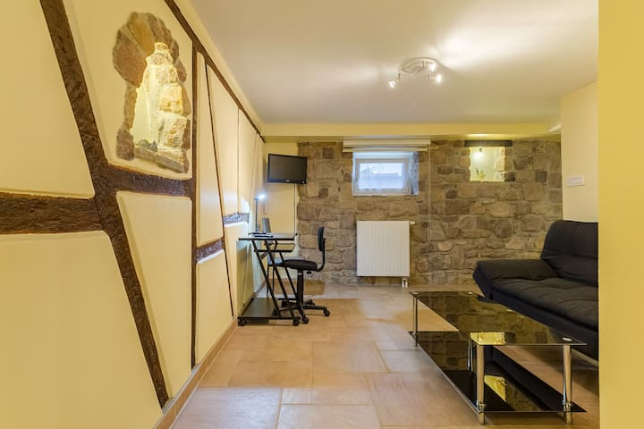 court séjour (atypique)  50 m2