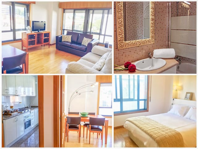 Modern Apartment - Porto Center (Private Parking)