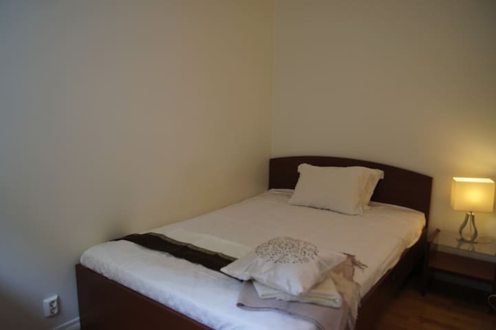 Bedroom 1 with a double bed.