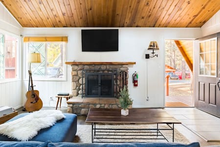Ski Chalet-Inspired Cabin in Big Bear Lake