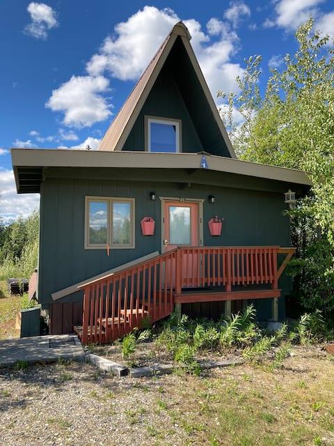 A-Frame Cabin in Nenana