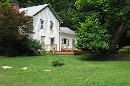 Quiet, Peaceful & Secluded Streamside House,