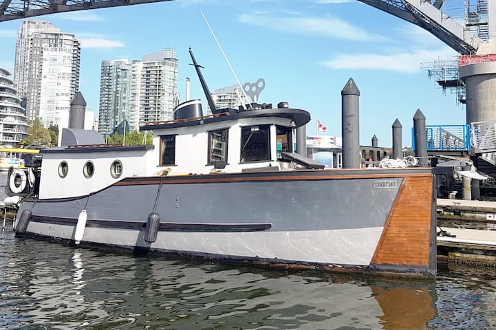 Historic Boat In The Heart Of Vancouver