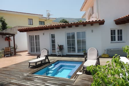 Casa Mar with ocean view and private pool and wifi - La Orotava - Reihenhaus