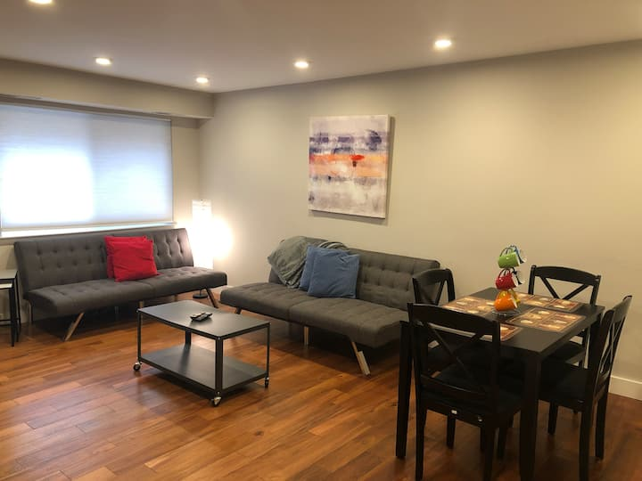 BEST in CENTER CITY: Modern 2br w GATED PARKING!