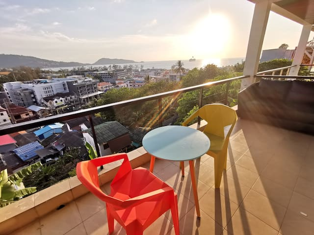 B巴东海景公寓 两室两卫 步行10分钟到巴东海滩 包电费 sea view apartmentB