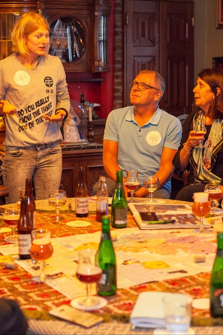 Sharing the Trappist and Lambic stories