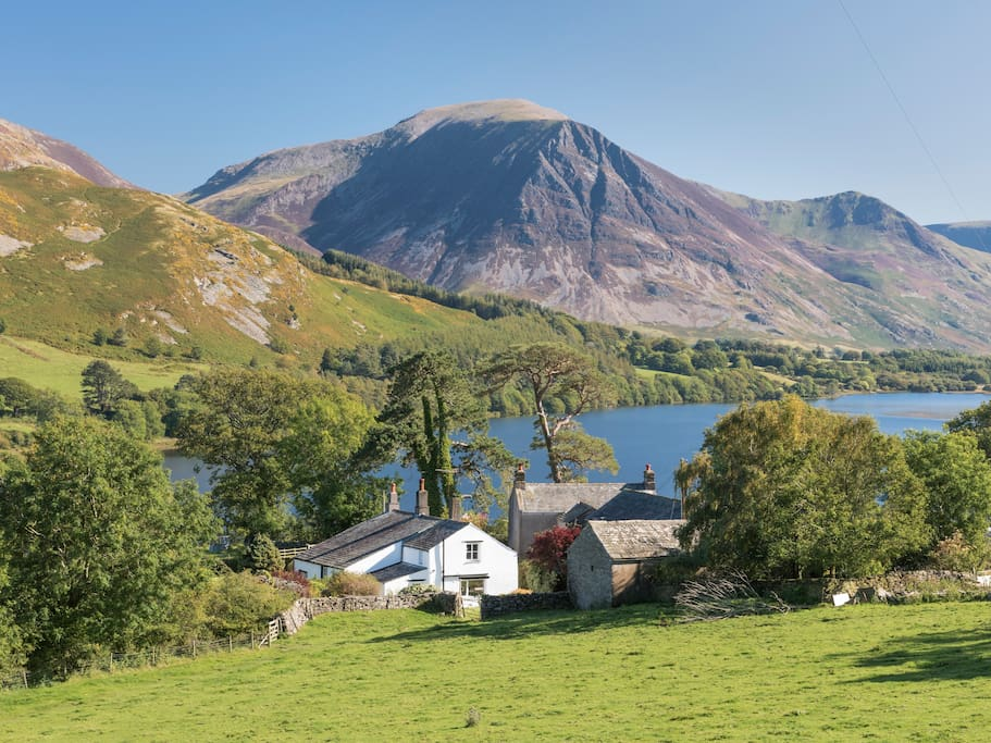 The Place is in an unrivalled position at the head of Loweswater.