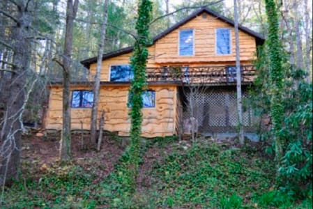 Hoot Owl in Heart of Apple Country With Hot Tub - Hendersonville - Casa