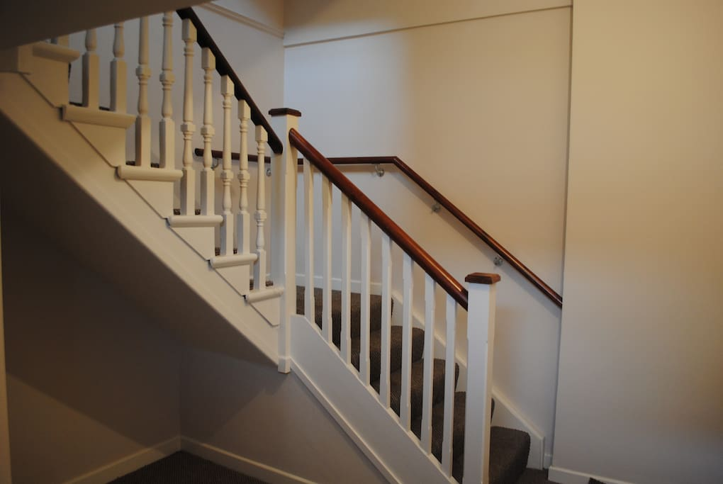 Please note: the apartment is accessed via stairs