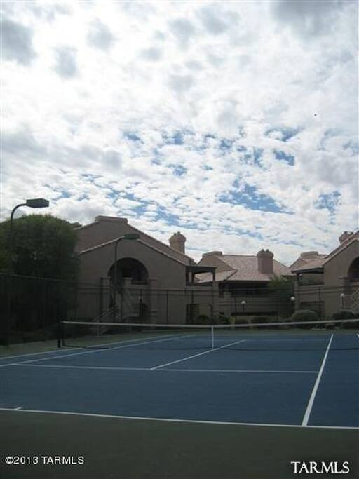Tennis Court/Exercise Room