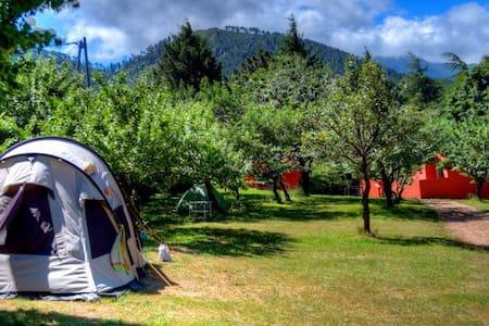 Tente 2 personne au camping le soleil - Tent