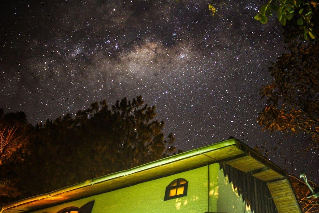 O incrível céu de Visconde de Mauá.