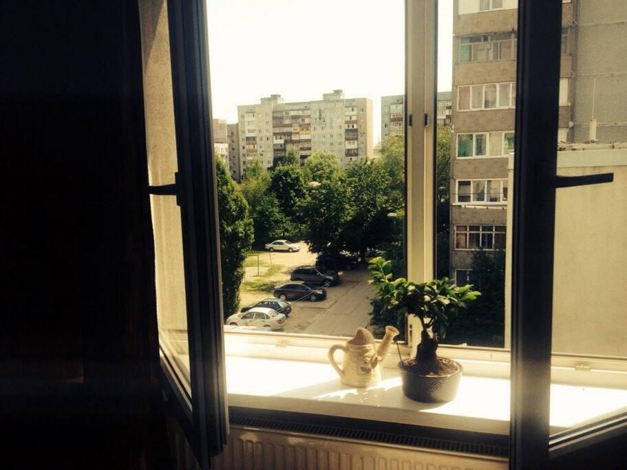 Вид из спальни/View from bedroom