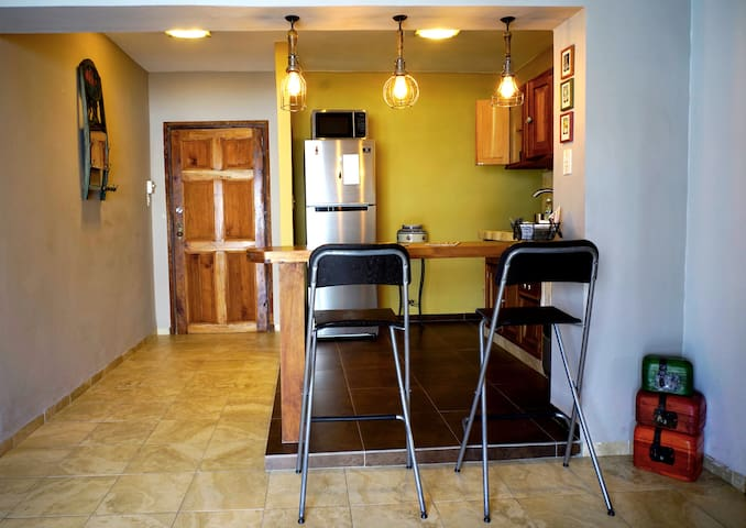 Renovated kitchen and brand new appliances.