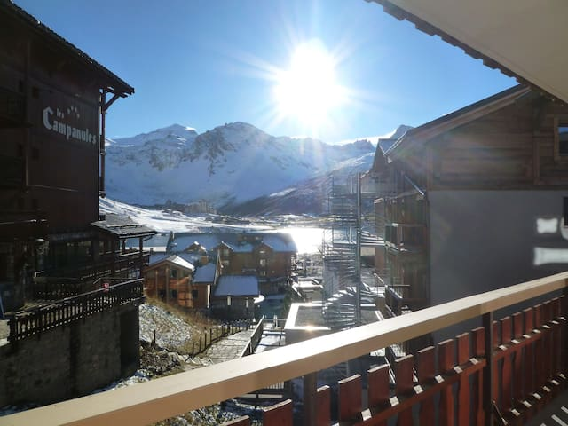 2 rooms apartment for 5 persons in Tignes close to the shops, the slopes and CIS agency in Le Rosset area