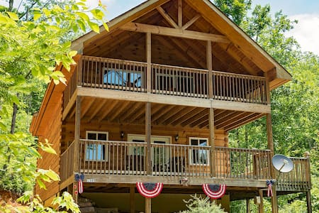 Log Cabin in Smoky Mtns. Pets Wifi - Sevierville - Kabin