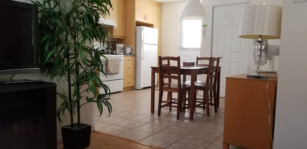 Bel appartement 3 1/2 au centre ville Rimouski