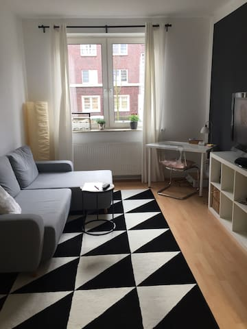 Single/Paar-Wohnung in Hamburg-Hamm - Hamburg - Apartemen