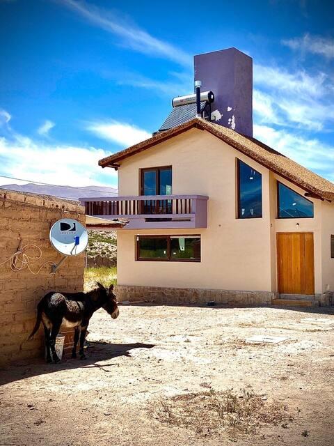 Tica Tikay, refugio de tierras