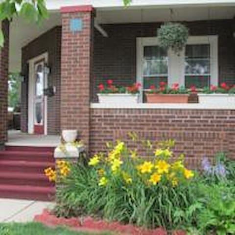 Baldwin House is blooming!
