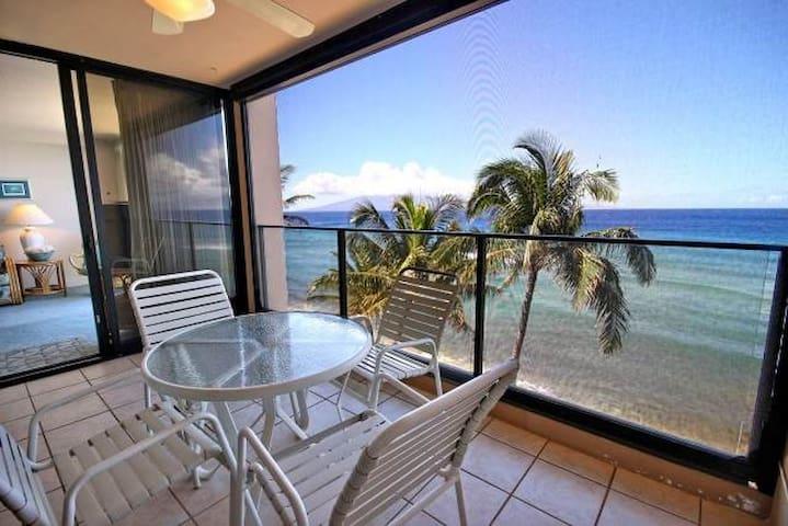 Breathtaking Deluxe 1 Bedroom Ocean Front #606 - Lahaina - Condo