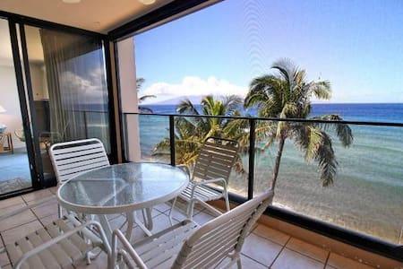 Breathtaking Deluxe 1 Bedroom Ocean Front #606 - Lahaina - Condominium