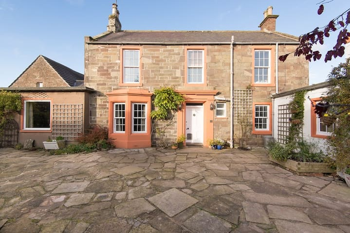 Traditional farmhouse in lovely scottish village houses for rent eastgate house a holiday house with history sciox Images
