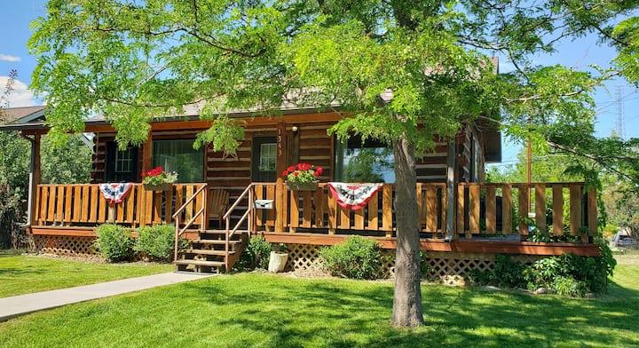 Buffalo Cabin on Wyoming