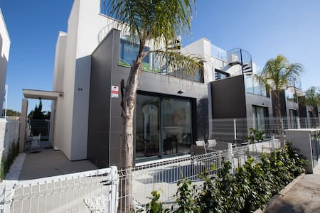 Contemporary Pool side Villa - Torrevieja