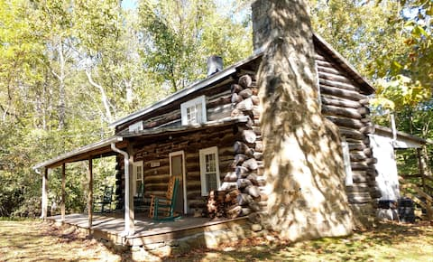 Rose River Cabin in the Blue Ridge Mountains