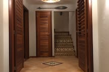 Hall da entrada principal.