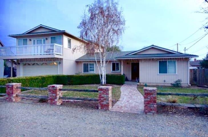 Spacious Santa Ynez Wine Country Home