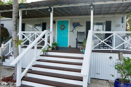 Ocean-Inspired Key Largo Coconut Cottage
