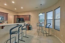 Take a break from eating out and prepare meals in the condo.