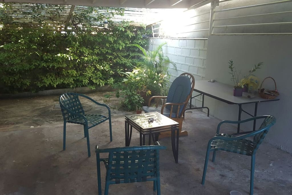 Outside Fully Enclosed Patio