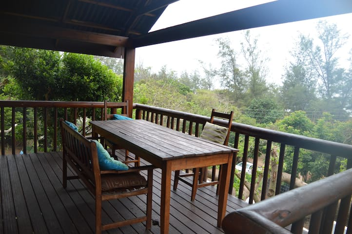 Leomar-Ponta do Ouro Sea View Lodge T1 chalet 2