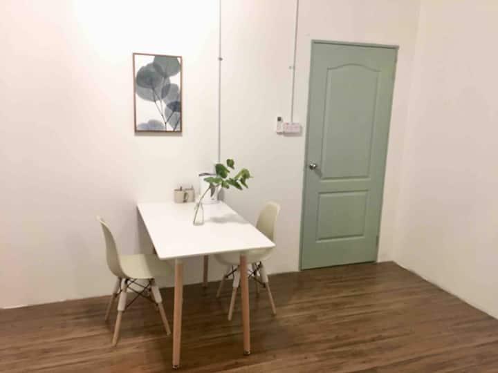 AJ Suite21@市中心加雅街Gaya St City Center Studio有窗·独立浴室