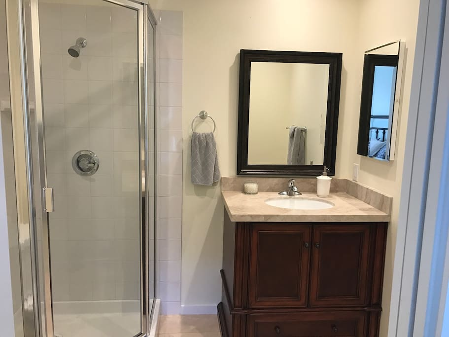Brand new bathroom.
