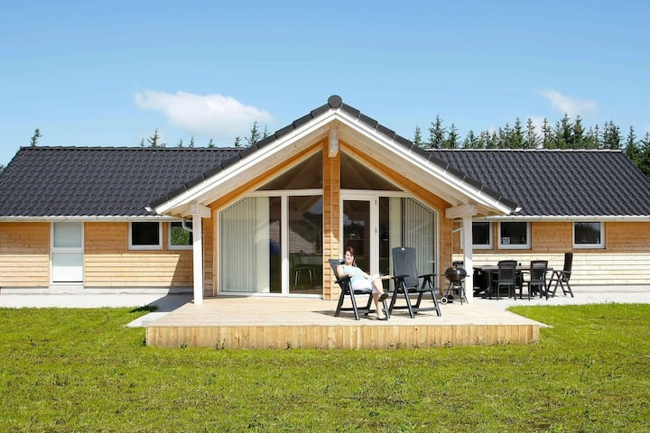 Spacious Holiday Home in Brovst Denmark with Sauna
