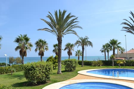Golf Courses beautiful beach flat in sunny spain - Дения