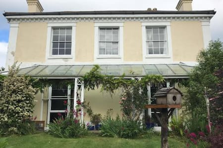 Period House in tucked away location - Blue Room