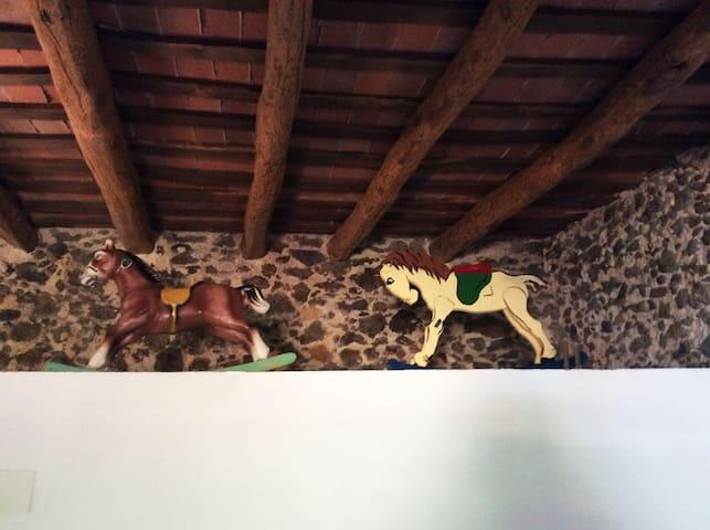 Detall habitació balcó