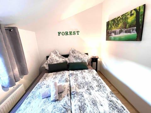 FOREST - Kleines Zimmer für 1-2 Personen